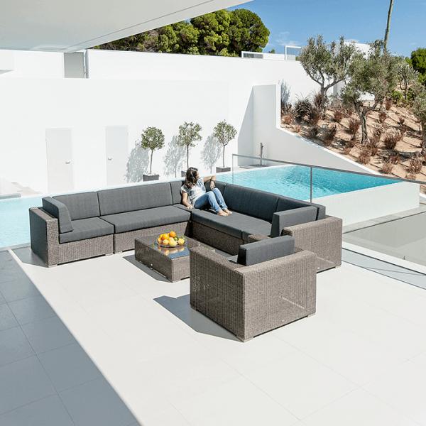 monte carlo modular sofa set with coffee table