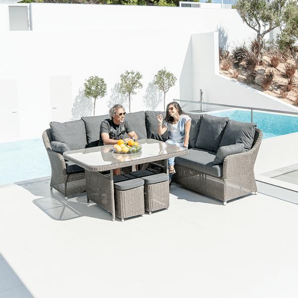 monte carlo modular square table set