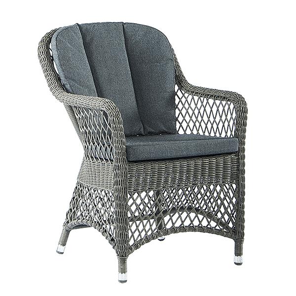 open weave chair