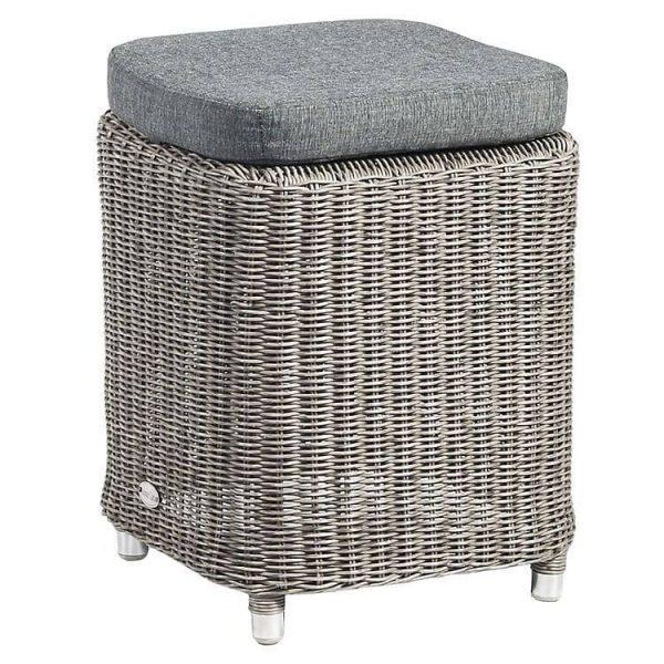 stool with cushion