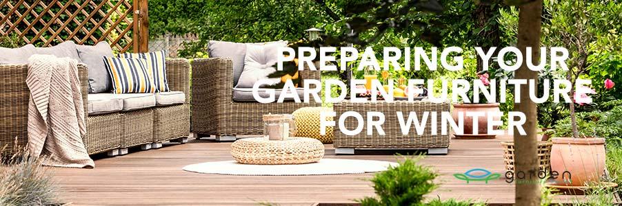 preparing garden furniture for winter